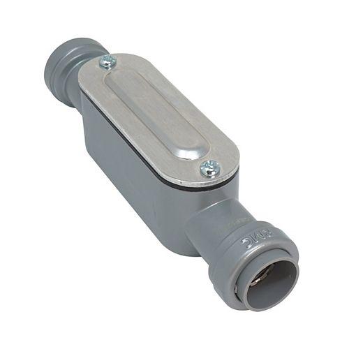 1/2 inch Rigid & IMC SIMPush Type-C Conduit Body