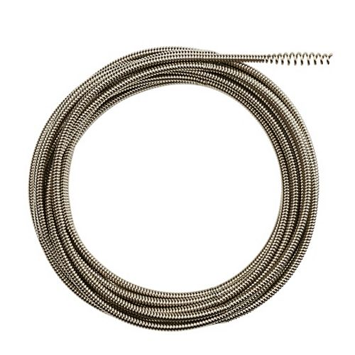 Milwaukee Tool 5/16 -inch x 25 ft. Inner Core Bulb Head Cable with Rustguard