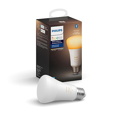 Philips Hue White Ambiance A19 ampoule intelligente DEL