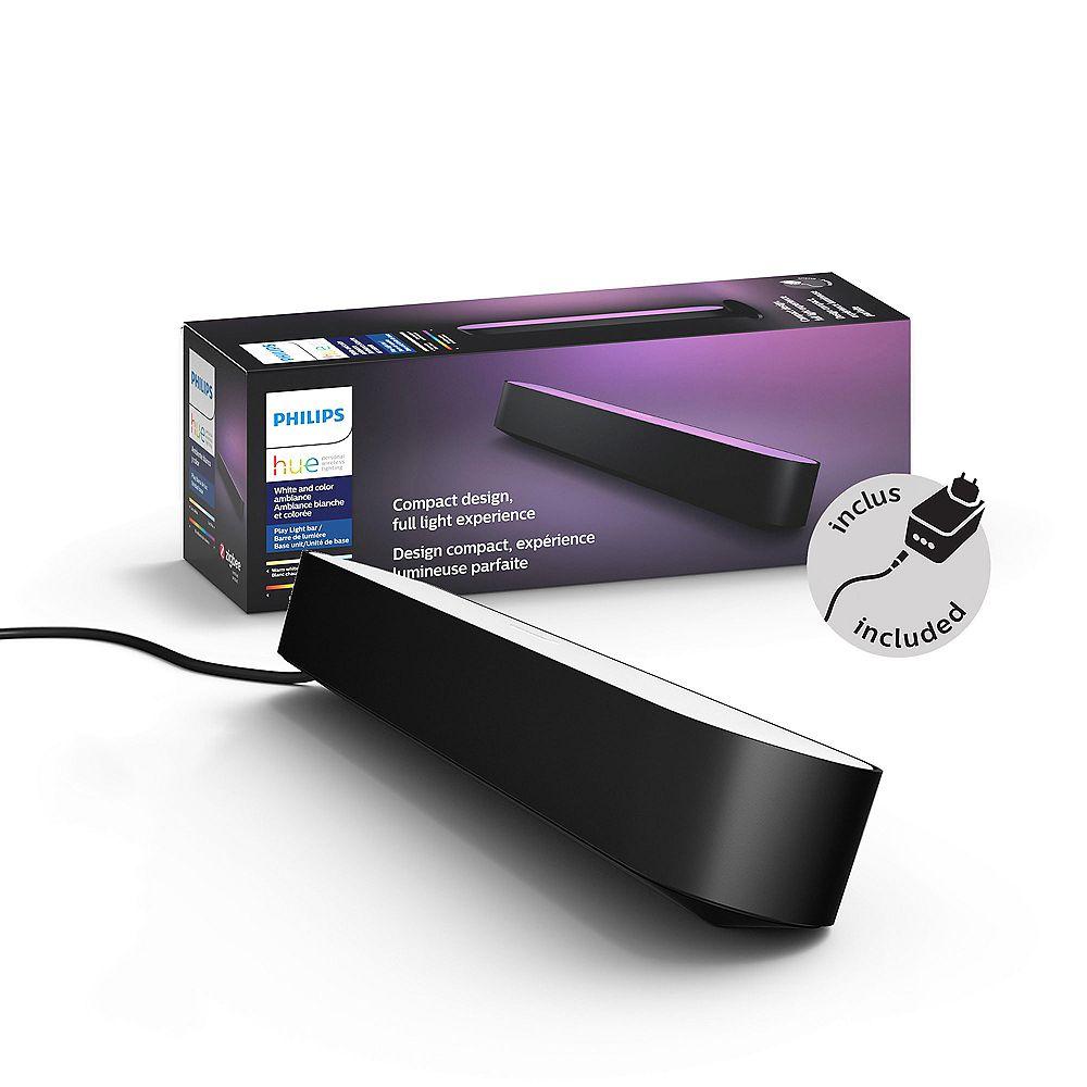 Philips Trousse de barres lumineuses intelligentes DEL Hue Play de Philips - Noir