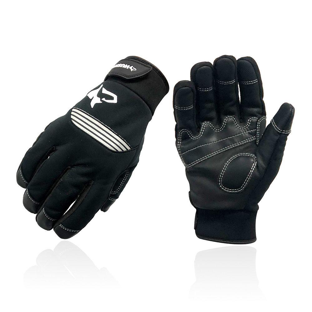 Husky Goat Leather Winter Warm Work Glove XL