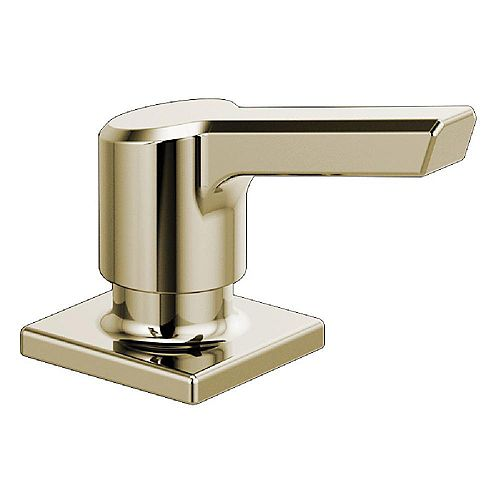 Pivotal Deck-Mount Soap and Lotion Dispenser in Polished Nickel