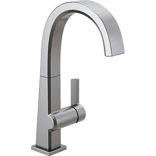 Delta Pivotal Single Handle Bar/Prep Faucet in Arctic Stainless