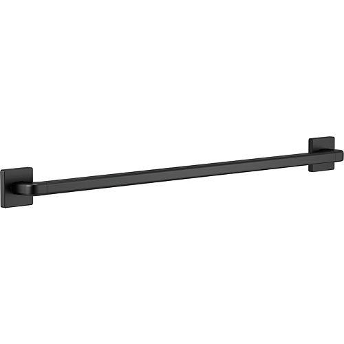Delta Modern Angular 36-inch x 1-1/4-inch Concealed Screw ADA-Compliant Decorative Grab Bar in Matte Black