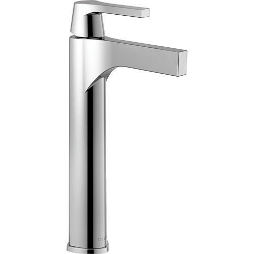 Delta Zura Single Hole Single-Handle Vessel Bathroom Faucet in Chrome