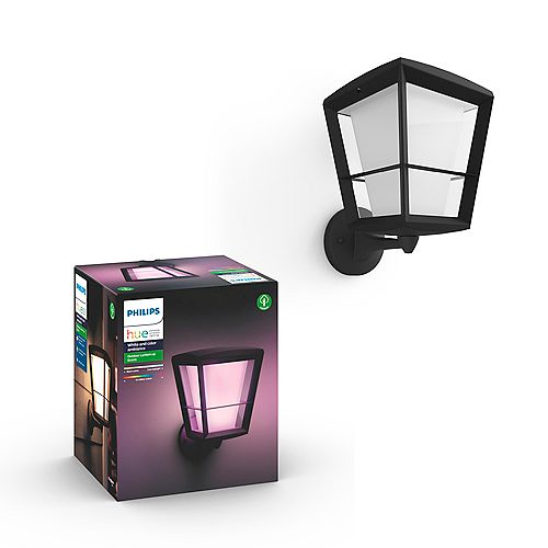 Hue Econic White and Colour Ambiance Up Outdoor Fixture