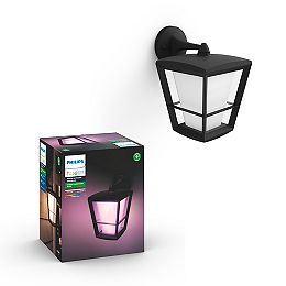 Econic White and Colour Ambiance Down Outdoor Fixture