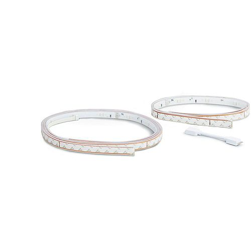 Hue White & Colour Ambiance Lightstrip Bundle 2m + 1m
