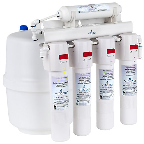 Five stage quick connect reverse osmosis treatment system