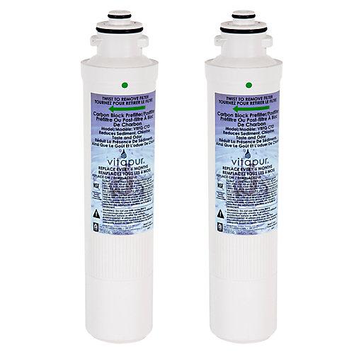 Ensemble de filtres pour système VRO-3Q - comprend 2 filtres