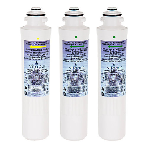 Filter Kit for VRO-4Q System - includes 3 filters