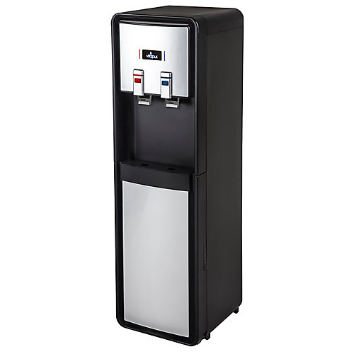VWD1086BLS-PL Bottom Load Water Dispenser (Hot and Cold) Black/Stainless Steel