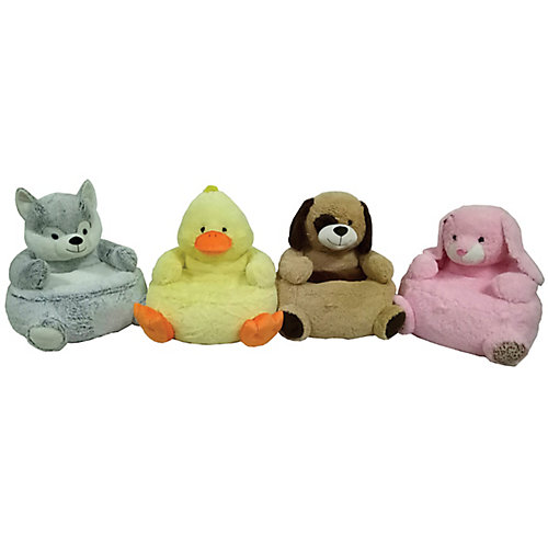 Plush Animal Chair (Assorted Styles)