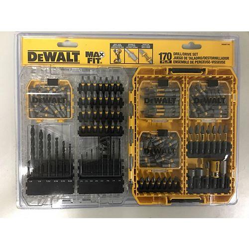 MAXFIT 170 Piece Drill/Drive Set