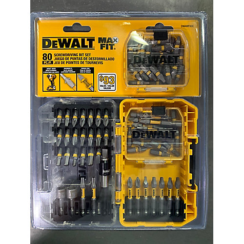 MAXFIT Screwdriving Set (80 PC)