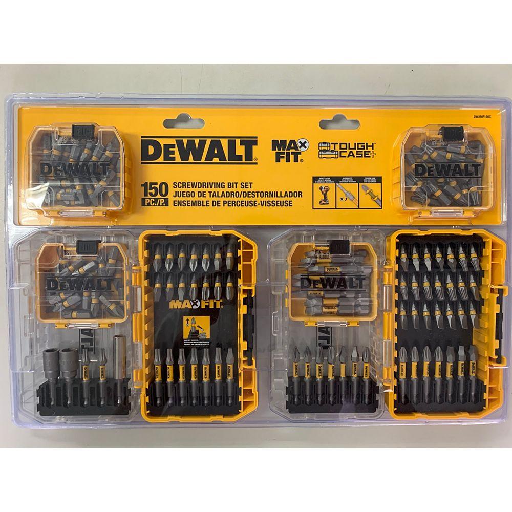DEWALT Kit de vissage MAXFIT (150 PC)