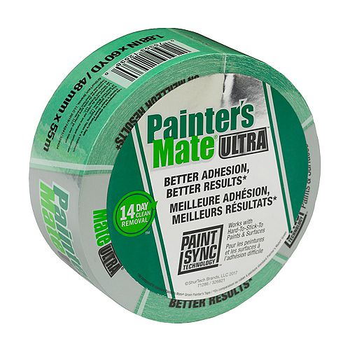 Painter's Mate Ultra Painter's Tape - Green, 1.88 inch x 60 yd.