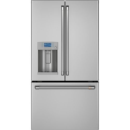 Café 22.2 Cu. Ft. Smart French-Door Refrigerator in Stainless Steel, Counter Depth