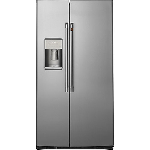 21.9 Cu. Ft. Side-by-Side Refrigerator in Stainless Steel, Counter Depth
