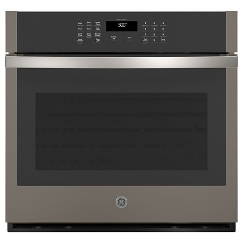 30-inch Smart Single Electric Wall Oven Self-Cleaning in Slate