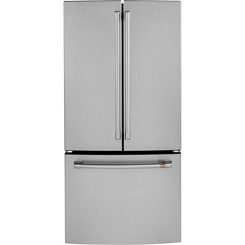 33-inch W 18.6 Cu. Ft. French-Door Refrigerator in Stainless Steel