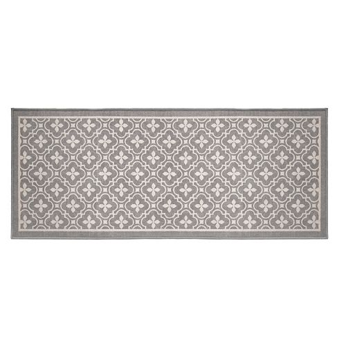 Printed Grey 2 ft. x 5 ft. Stair Tread