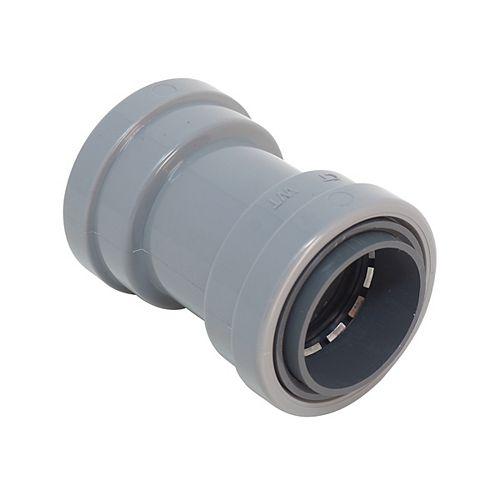 1/2 inch PVC-CIC SIMPush Coupling 5-Pack
