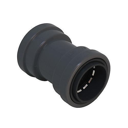 Connecteur SIMPush non métallique étanche aux liquides 1/2po