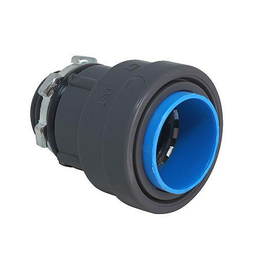 1/2 inch Liquid Tight Non-Metallic SIMPush Box Connector 5-Pack