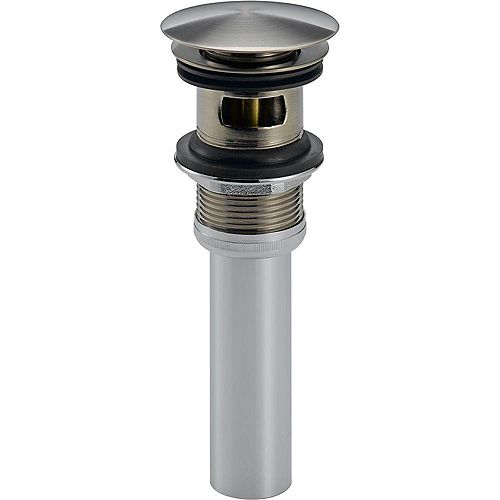Push Pop-Up With Overflow in Stainless Steel