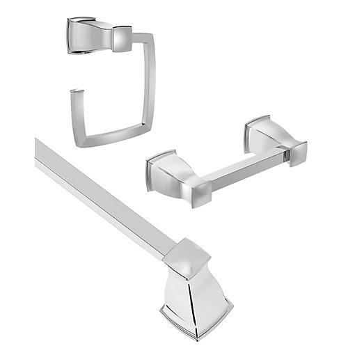 Hensley 3 piece kit - Chrome