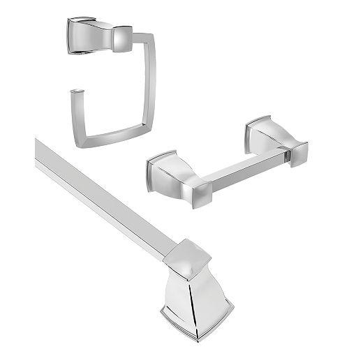 Hensley 3-Piece Kit in Chrome