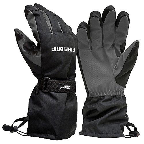 Gant hiver tout temps (Thinsulate 40g, doublure résistante à l'eau, manchette longue) SGrand