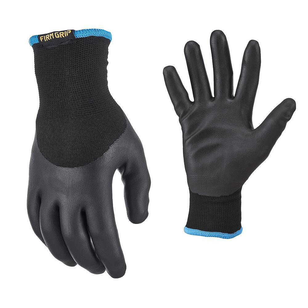 Firm Grip Nitrile Coated with Liner Winter Glove, Large