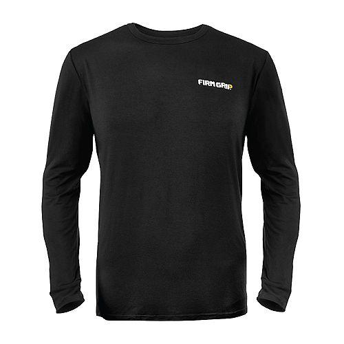 Black Long Sleeve Baselayer Shirt, XLarge