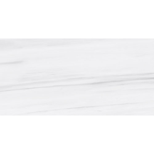 Dolomite Bianco 12-inch x 24-inch Polished Rectified Porcelain Tile (15.5 sq.ft. / case)