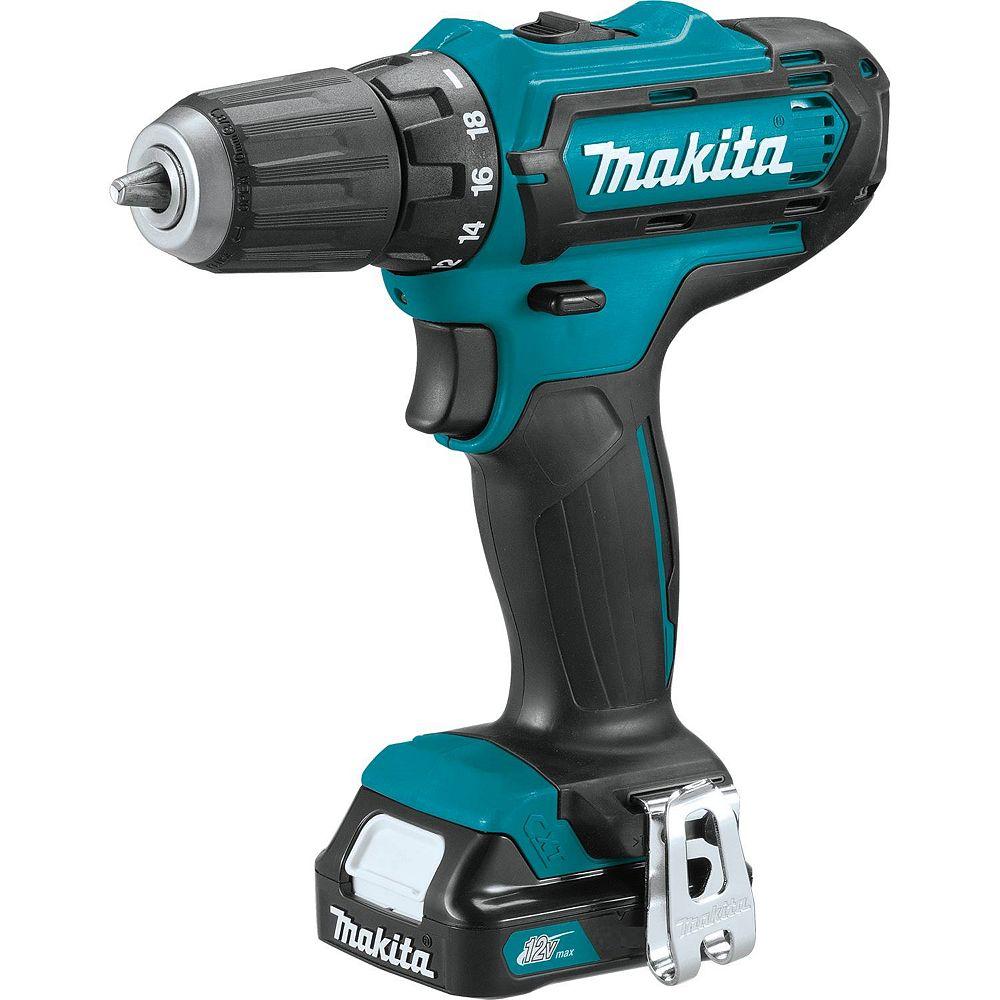 MAKITA 12V MAX CXT 3/8 inch Driver Drill 1.5Ah Kit