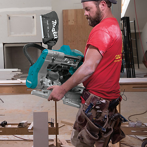 18Vx2 LXT Brushless 10 inch Slide Mitresaw w/Laser(Tool Only)