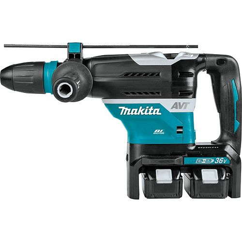 MAKITA 18Vx2 LXT Brushless 1-9/16 inch Rotary Hammer 5.0Ah Kit