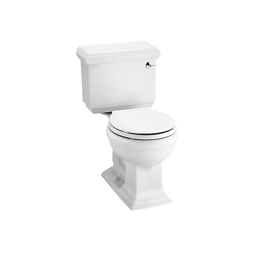 Comfort Height(R) two-piece round-front 1.28 gpf toilet