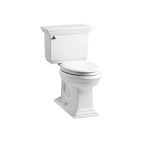 KOHLER Comfort Height(R) two-piece elongated 1.28 gpf toilet