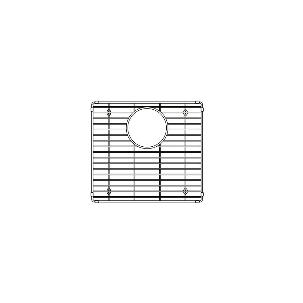 Blanco Large Bowl Sink Grid for IKON 33 1.75 Low Divide, Stainless Steel