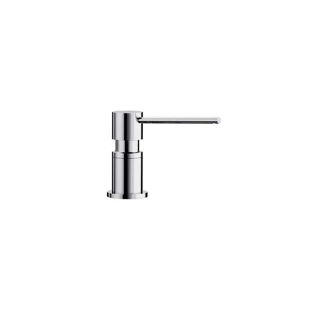 Blanco LATO Soap Dispenser, Chrome, (300 ml) 10 fl oz.