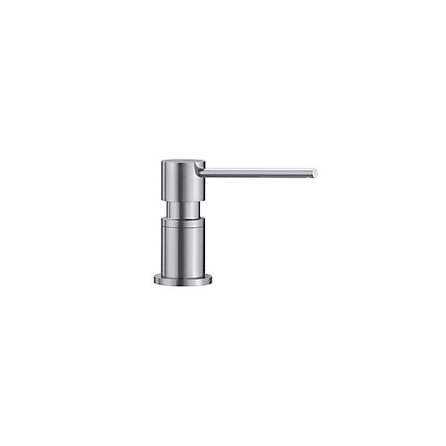LATO soap dispenser, Stainless Finish