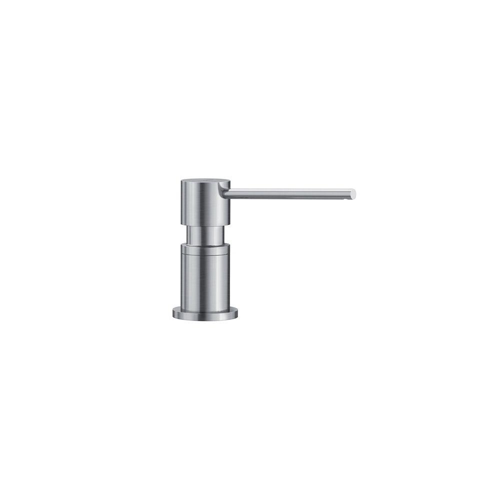 Blanco LATO Soap Dispenser,  Stainless Finish, (300 ml) 10 fl oz.
