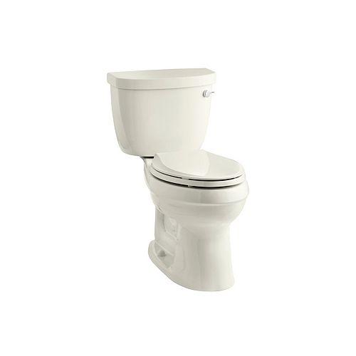 Cimarron(R) Comfort Height two-piece elongated 1.6 gpf toilet with AquaPiston flush technology