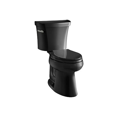 Comfort Height two-piece elongated 1.28 gpf toilet with Class Five flushing technology