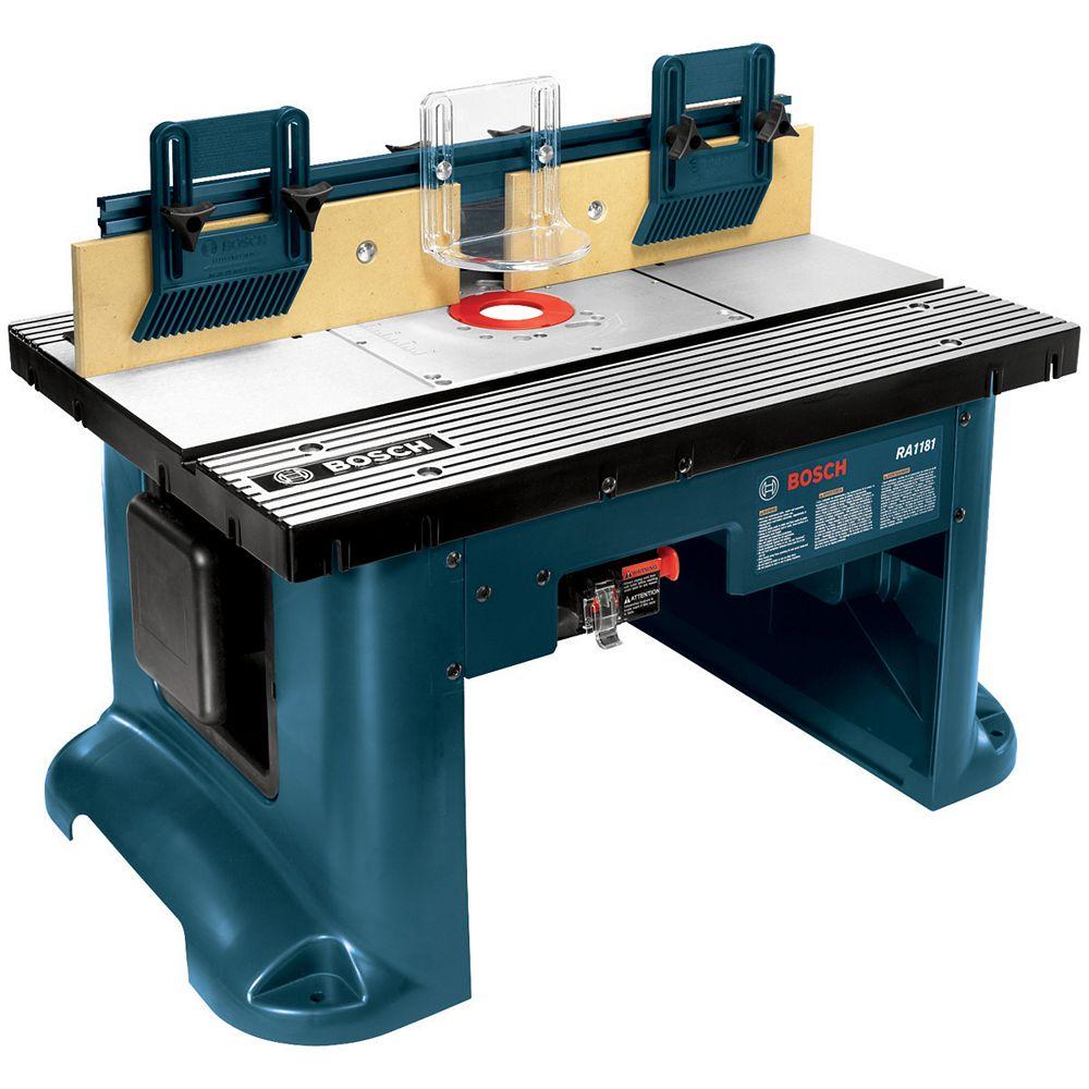 Bosch Table de toupie pour équipement stationnaire