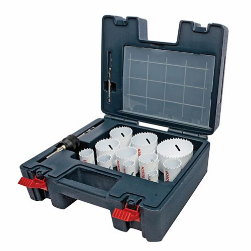 25 pc. Master Bi-Metal Hole Saw Set