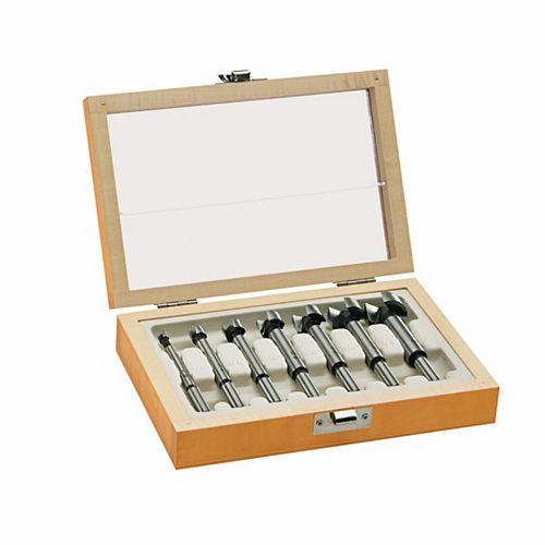 7 pc. Wood Forstner Bit Set